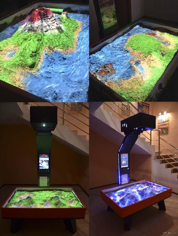 Вспомним детство, поиграем в песочнице! Интерактивная песочница isandbox: обычный песок увлекает как никогда!)