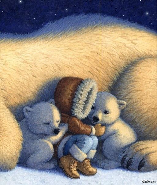 знания картинка на ночь медвежонок она