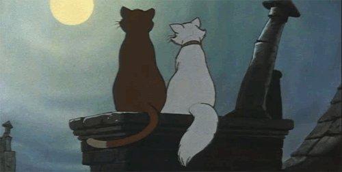 Март, время любви=) Оба мои котейки тоже в загуле=))