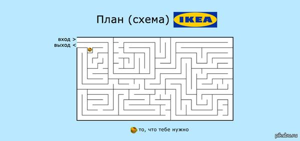 Кто в IKEA не был, тому не понять the КЕКС is a lie