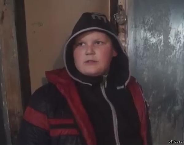 """Санек из """"опсного района"""" Отличный сериал."""