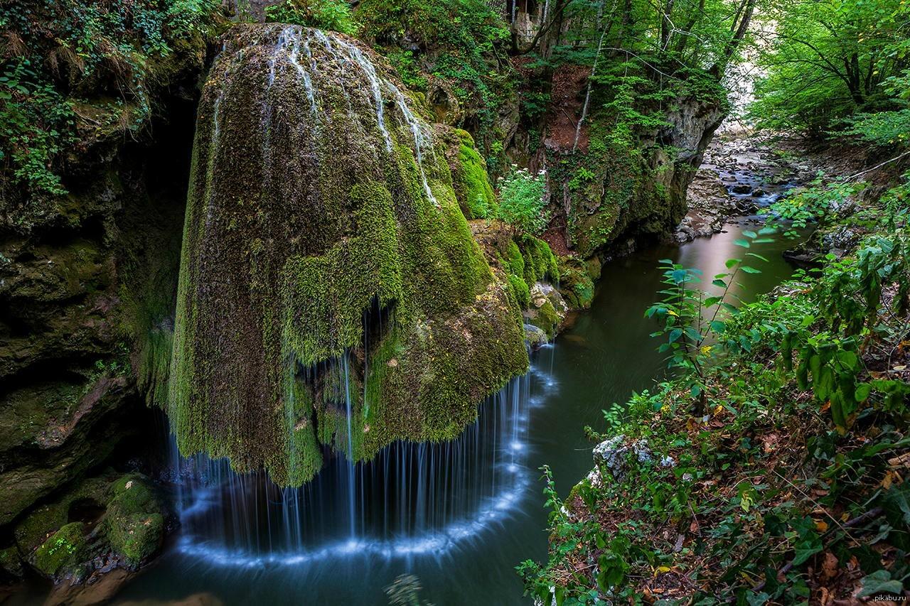 Необычные водопады мира фото