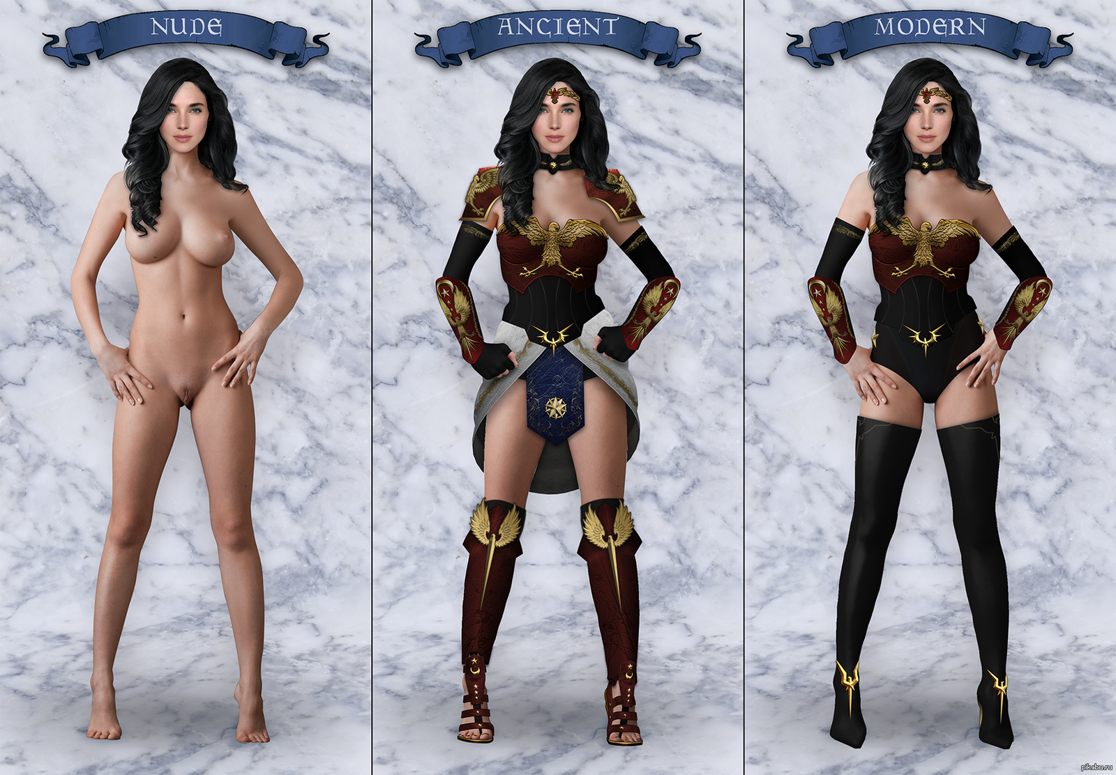Nudes and wonder woman 11