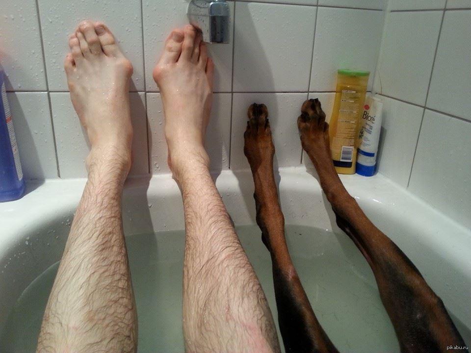 фотка ног мужика фото