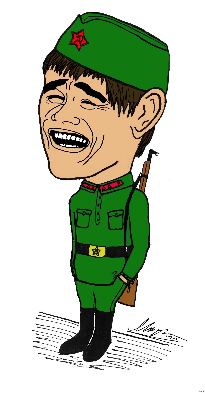 Черный юмор, картинка сержанта прикольная