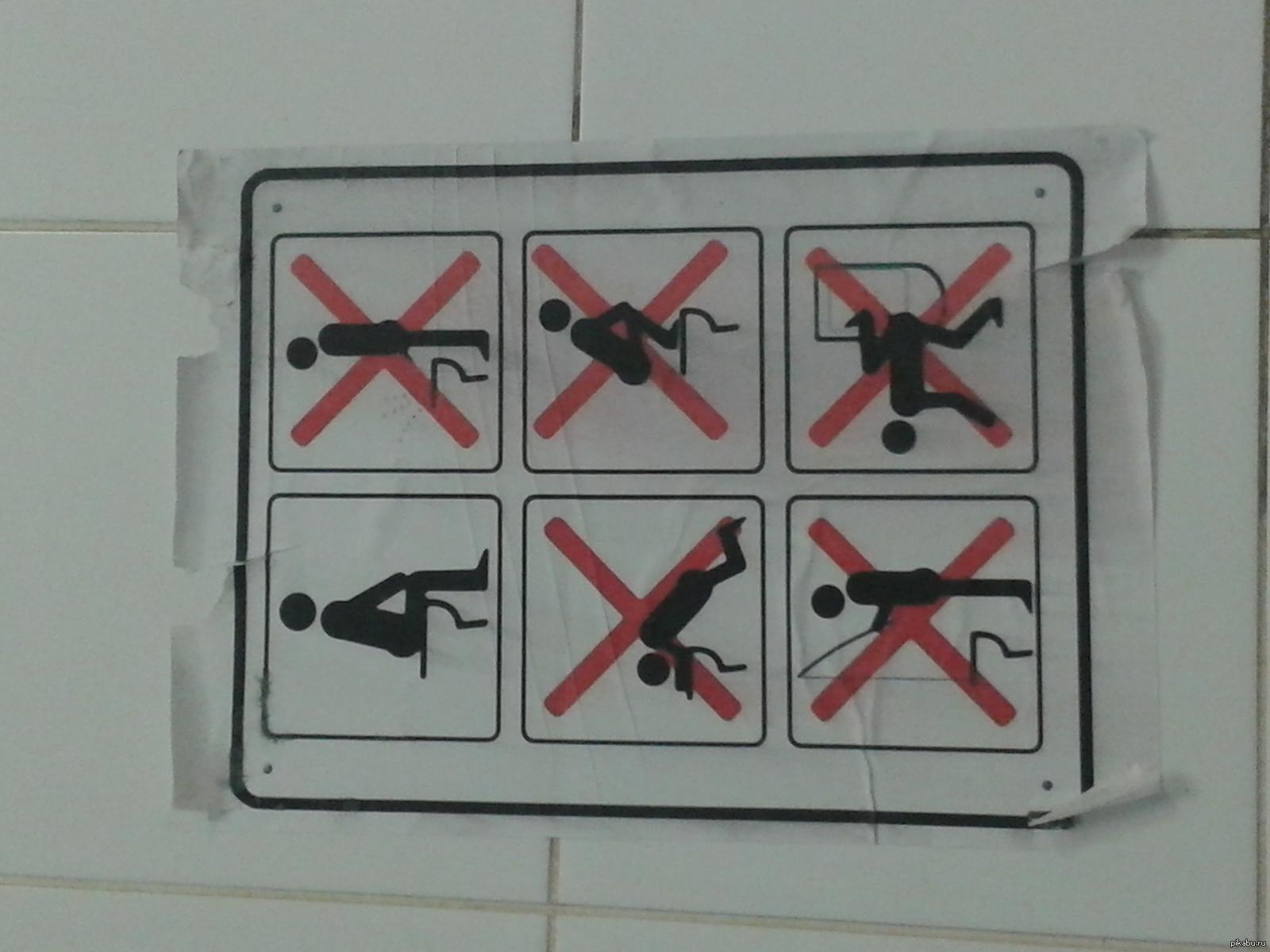 Прикольные картинки как пользоваться туалетом